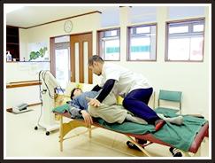 股関節のペアストレッチ