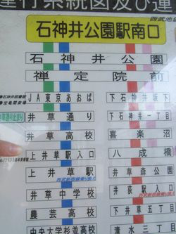 上井草駅入り口