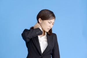 むち打ち症の首の痛み